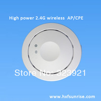 300Mbps indoor  ceiling AP router 2.4GHZ wireless POE adapter high power wifi cpe with RJ45 port