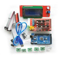 Mega 2560 R3 + RAMPS 1.4 + 5pcs A4988 Stepper Driver Module +2004 LCD + 5pcs Heat Sink for 3D Printer kit Reprap