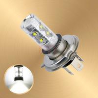H4 60W Cree LED White cars Fog Head lights Bulb auto Lamp Vehicles Signal Tail  parking car light source free shipping