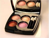 (Min Order 10$) Brand 4 color makeup Professional CC powder eye shadow palette eyeshadow