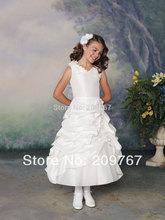 popular little girls wedding dress