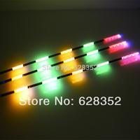New 2014 3pcs/lot Five Full Luminous Electronic Floats Fishing Tackle Battery Night Fishing Floats + 3pcs Battery