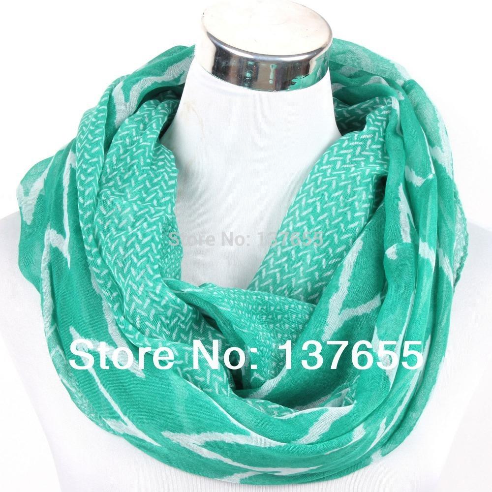 get cheap chevron infinity scarf aliexpress