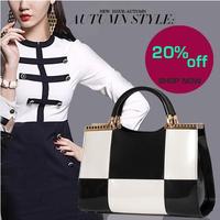 Fashion Hot women's handbag 2014 women genuine leather handbags shaping bag female messenger bags free shipping