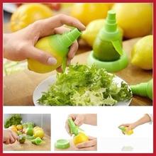 buyneer 2Pcs Fruit Citrus Lemon Lime Orange Stem Sprayer Juice Maker Juicer Kitchen Tool High Quality(China (Mainland))