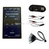 Xprotolab Portable Oscilloscope Logic Analyzer Sniffer AWG MSO FFT XMEGA32 1.3'OLED 2Msps