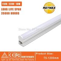 LED Integrated Tube T5 1200mm/4ft 14w 72pcs SMD2835 AC180-240V led tube light warmwhite/coolwhite Free shipping 6pcs/lot