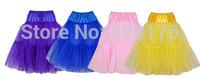 Free shipping Retro 50s Underskirt Swing Vintage Petticoat Fancy Net Skirt Rockabilly Tutu