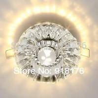 Crystal Led  3w LED Spotlight Light restaurant lights living room backdrop aisle  porch bovine