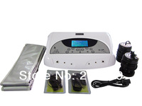 DHL Free and Fast Shipping Detox Machine Foot Spa Machine Detox Machine Dual lon Cleanse Foot Massager with infrared waistbands