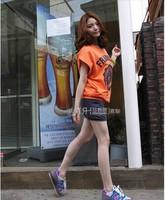 2014 casual set summer plus size twinset short skirt sports set one-piece dress