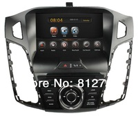 Pure Android 4.2 Car DVD GPS for Ford Focus 2012 with CPU 1.6GHz/ RAM 1GB/Capacitive screen/Radio RDS/BT/IPOD/Wifi/Free shipping