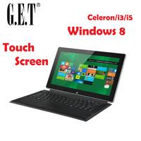 "11.6"" Win8 tablet Ultrabook Laptop Computer  Touch screen RAM4G/32GB Flash memory Intel celeron"