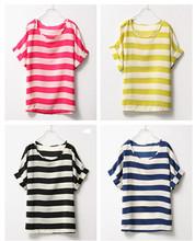black yellow striped shirt promotion
