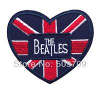 The Beatles Heard Band Iron On Patch ot Sticker, UK Music Fabric Patch, Rock Punk Badge, Children Cloth DIY Accosseries