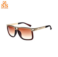 2014 Latest Fashion Brand Design Sunglasses,Women High Grade Metal Frame Lunettes De Soleil,Men Personality Gafas Wholesale G194