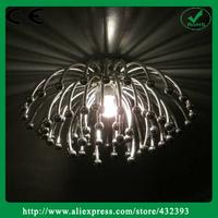 AISC Guzhen Pistillo Chrysanthemum Star Shaped Bedroom Plastic Pendant Light Free Shipping