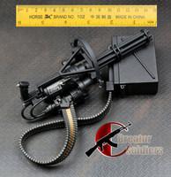 1/6 Action figure COOMODEL portable M134 vulcan rapid-fire Machine gun