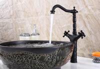 Fashion Design Faucet ORB Bathroom Faucet Two Handles Basin Faucets Bathroom Hot Cold Mixer Tap Faucet MK3306B