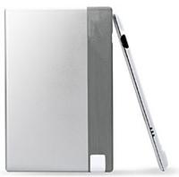 100pcs/lot silver color 850mah power bank 18650 850mah battery battery portable Credit Card for mobile phone