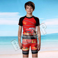 2015 new  patchwork multi-colored children bathing suits twinset boxer swimwear baby/boy sunscreen swimsuit