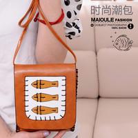 2013 cartoon fish dollarfish bags mobile phone coin purse small one shoulder cross-body bag