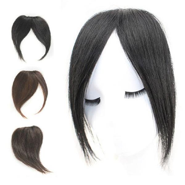 Human Hair Clip In Bangs By Hairdo 45