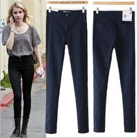 OVO!2014 New Sexy Lady's Apparel Women Clothing Fashionslim tall waist AA cowboy pants feet jeans F.KZ.W.001