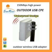 outdoor wifi  CPE built in 36 dBi antenna wireless usb adapter  long range wifi high power wireless long range