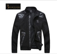 Free shipping Billionaire italian couture jacket outerwear men's clothing male casual comfortable slim