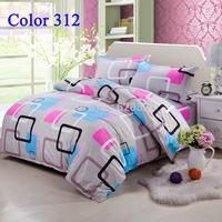 Home textile Comforter Set Fashion Bedding Brand Bedding Sets Duvet Quilt Cover Bed Set  Bedclothes 4PCS Bedcover Home decor