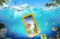 Wholesale 10pcs/lot Shockproof Waterproof Case Cell Phone Cases Cover Protector Water Proof Bag for Galaxy S4 i9500