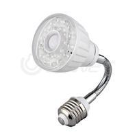 E27 23 White LED Light Lamp IR Infrared PIR Motion Sensor Detector Flexible