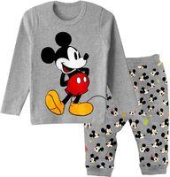 Retail free shipping 100% cotton long sleeve pajamas for boys kids pajama sets pijama clothing set Santa Claus christmas2-7yrs
