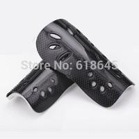 a pair professional soccer shin pads  protective gear shank pad  football Shin Guard Sports Safety