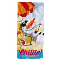 Olaf  Frozen Towel Beach Bathroom Children's Kids 100% Cotton Bath Towels Frozen Olaf  Chillin Printed towels 70*140 cm