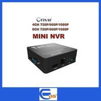 4ch/8ch Super Mini NVR Network HD Video Recorder 720P/1080P Support ONVIF 1080P HDMI Output