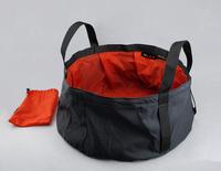 Free Shipping Portable 8.5L Outdoor Folding Washbasin Lightweight Camping Basin Travel kits