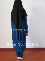 Promotion New Arrival 2014 Arabic Abaya,Fashion Three-piece Muslim Prayer Clothing,Girl's Kaftan,Jilbab In Dubai Free Shipping