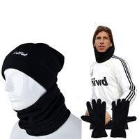 Free shipping Outside sport football ride muffler  autumn and winter sports fleece muffler scarf hat gloves windproof face mask