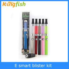 Beautiful slim shape vaporizer portable E Smart electronic cigarette blister kit