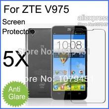 5pcs Free Shipping ZTE V975 Screen Protective film,Matte Anti-glare Mobile Phone ZTE v975 Screen Protector.phone film.LCD film