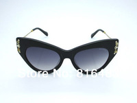 Brand new 2014 fashion designer women sunglasses MUMU 04P trend Cat Eye sun glasses vogue eyewear popular best quality