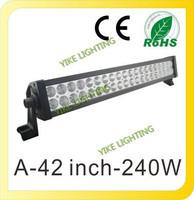 12V 24V 41.5 Inch High Power 240W LED Lights Bar COMBO WORK Light Bar 4WD UTE OFF ROAD For Truck Boat Camping