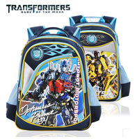 Transformers cartoon primary school bag books/children/kids  shoulder backpack for boys student   grade/class 1-4 2014 new