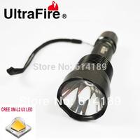UltraFire C12  LED Torch Light 5-Mode CREE XM-L2 U3 2200lm SMO (1x18650)