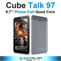 """9.7"""" Cube TALK97 Talk 97 U59GT Quad Core Phone Call Tablet PC IPS 1024x768 8GB Rom 8.0MP Camera MTK8382 1.3GHz WCDMA GPS"""