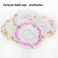 yp015 wholesale 10pcs new 2014 PVC lovely Cartoon Environmental protection of the bath cap/Multicolor random shipment