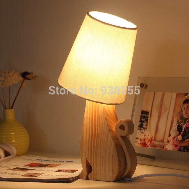 Lampe en forme d 39 animaux promotion achetez des lampe en for Lampe de table de nuit