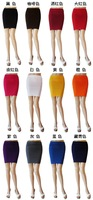 New 2014 summer ladies high waist candy color pleated short pencil skirt, women neon solid sexy bodycon bandage wrap skirt